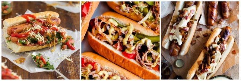 OMG. These 22 Wildly Cool Hot Dog Recipes to Make Your Mouth Water are seriously the best way to make the hot dog your new favorite meal. #hotdog #hotdogrecipes #grownuphotdogs