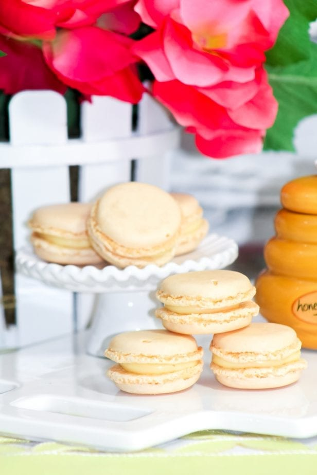 If you're macaron-curious or a macaron-artist, these Wickedly Easy Vanilla Macarons are so simple, you're going to love them from the get-go. #frenchmacarons #vanillamacarons #macaroncookies #easymacaroncookies